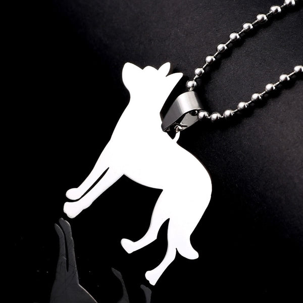 Beauceron Beauce French Shorthaired Shepherd Pet Dog Tag Charm Pendant Necklace