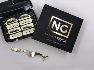 Silk Magnetic Eyelashes - Nova Goddess