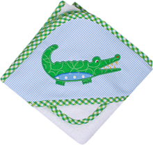 Load image into Gallery viewer, 3 Marthas Alligator Pique Hooded Towels & Washcloth Sets