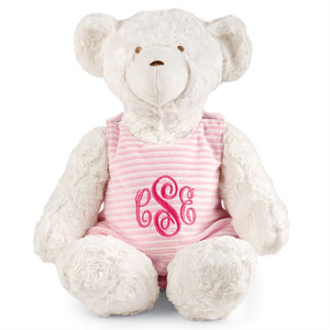 Pink Stripe Bear
