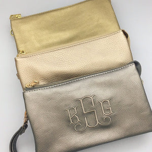 Caroline Hill Crossbody Bag - Metallic