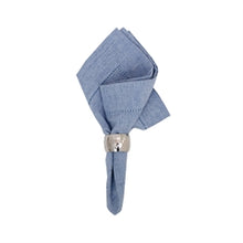 Load image into Gallery viewer, Dinner Napkin Blue Chambray