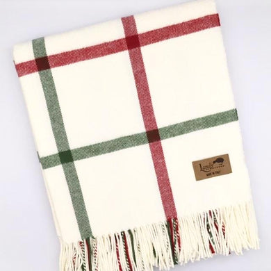 Tattersall Plaid Throw - Holiday
