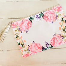 Load image into Gallery viewer, Floral Zipper Pouch