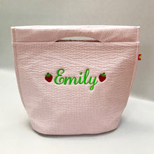 Load image into Gallery viewer, Mint Seersucker Mini Tote - multiple colors