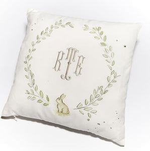 Over the Moon Bunny Pillow