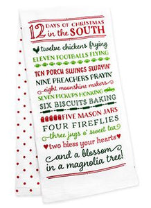 12 Days of the South Tea Towel