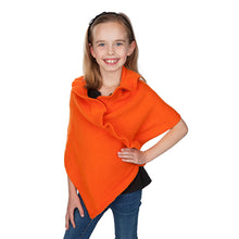 Load image into Gallery viewer, Youth Ruffle Poncho