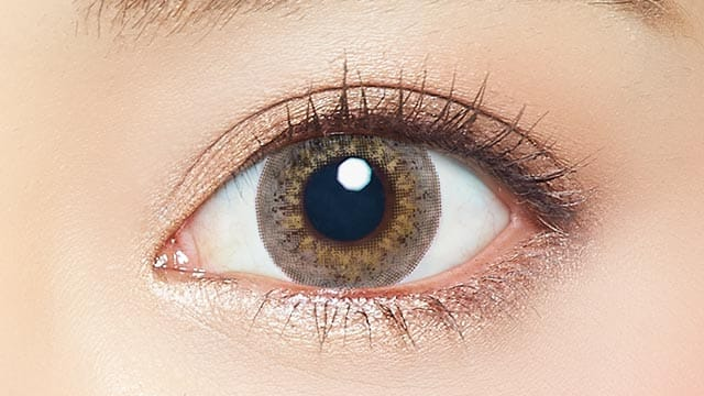 EYE GENIC by evercolor monthly月抛---half series luxe beige