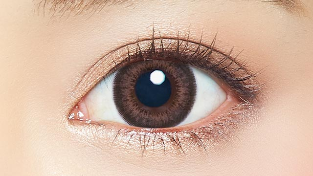 EYE GENIC by evercolor monthly月抛---natural series shimmer chocolat