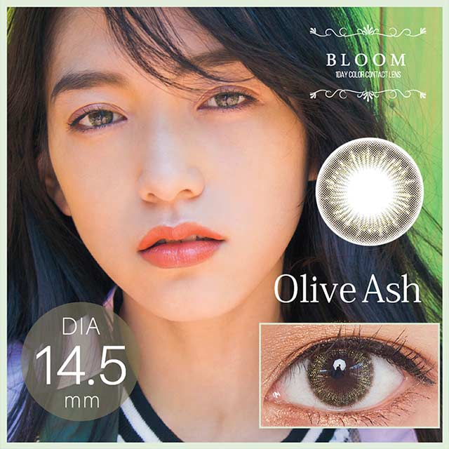 BLOOM 1 DAY 日抛 olive ash----10枚入