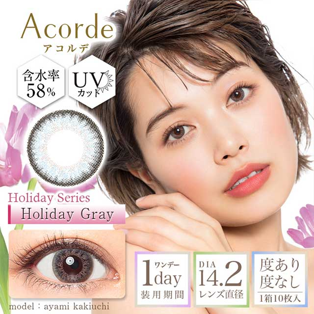 ACORDE Holiday series holiday GREY日抛----十片装