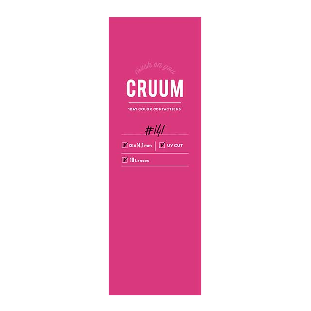 CRUUM Black Pink 1 day  日抛 Blossom ----10片装