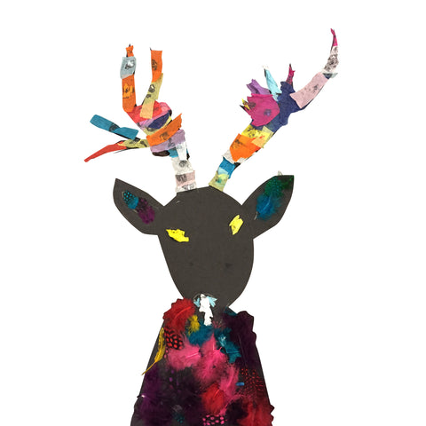 Crazy Colorful Deer