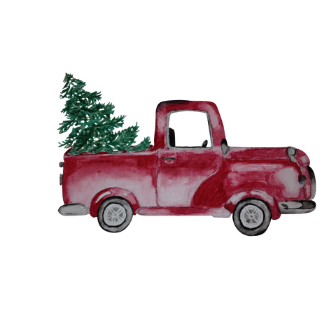 The Christmas Tree Car