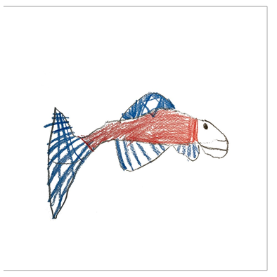 Salmon Greeting Cards