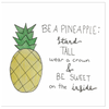 Be a Pineapple Greeting Card