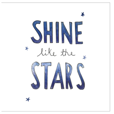 Shine Like the Stars Greeting Cards