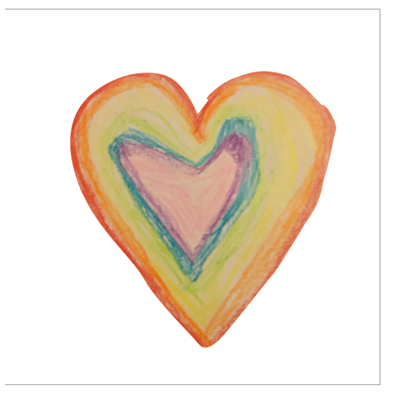 A True Rainbow Greeting Card