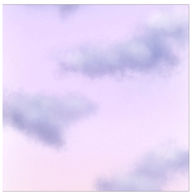 Pastel Clouds Greeting Cards