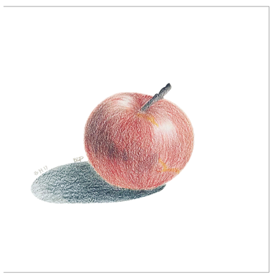 Bad Apple Greeting Card