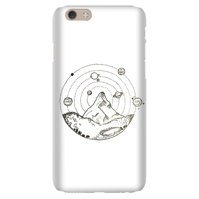 A Galaxy on Earth Phone Case