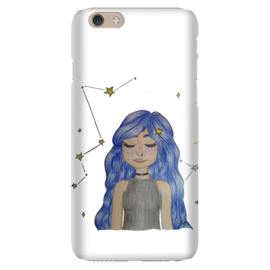 The girl of stars Phone Case