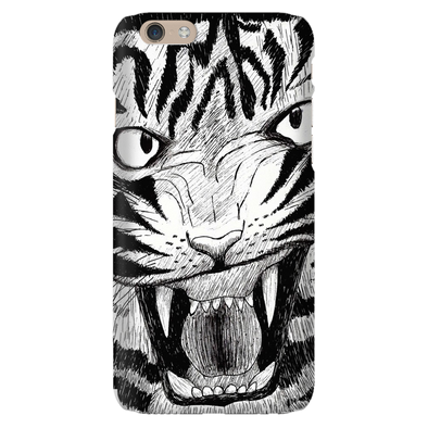 Full Furious Tiger Phone Cases