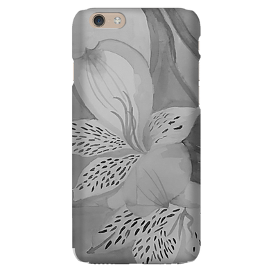 Grey Florals Phone Case