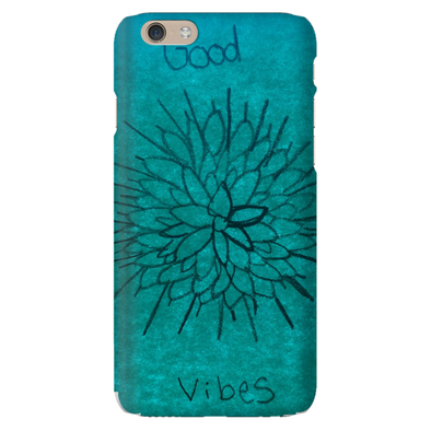 Good Vibes in Flowers Phone Cases