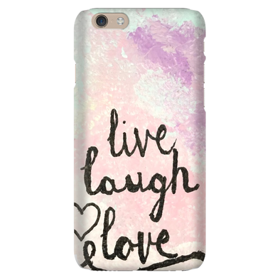 Live, Laugh, Love Phone Cases