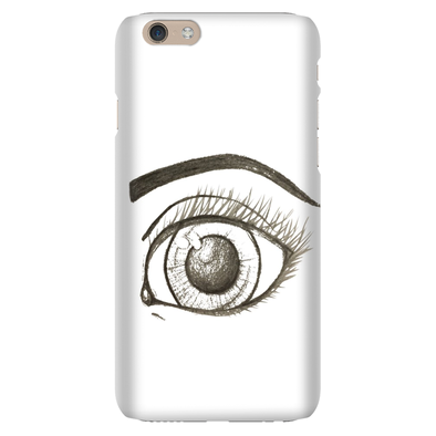 Eyes are the sea to the soul Phone Cases