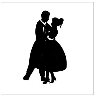 Slow Dance Greeting Cards