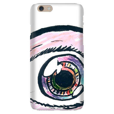 Eyeballing Colored Phone Case