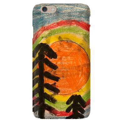 Rainbow Trees Phone Case
