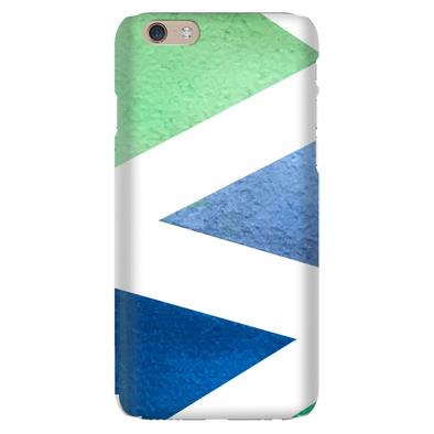 Hombre Triangles Phone Case