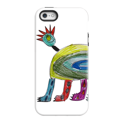 An odd fantasy monster phone case