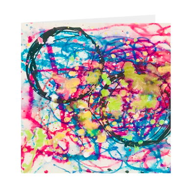 Beautiful Chaos Greeting Cards
