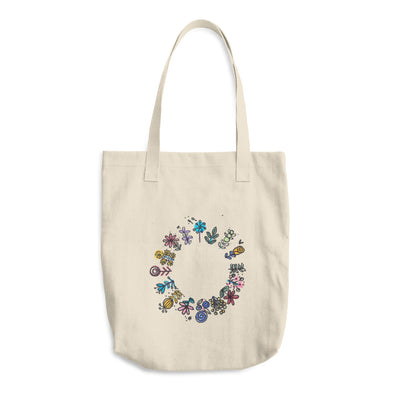 All Around Pretty Cotton Tote Bag