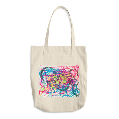 Beautiful Chaos Cotton Tote Bag