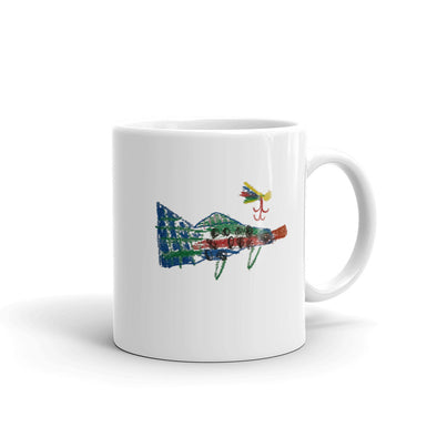 Fish and Fly Mug