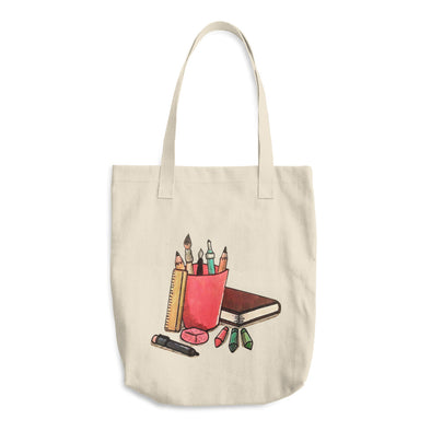 Study Pack Cotton Tote Bag
