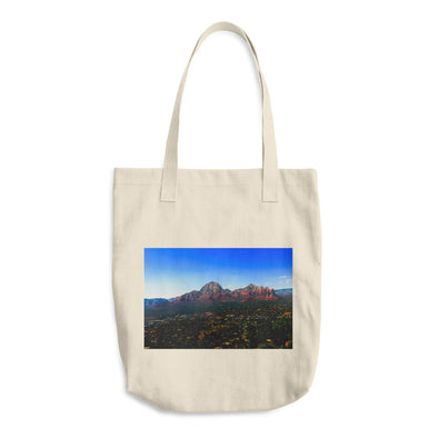 Nightfall in Midday Cotton Tote Bag