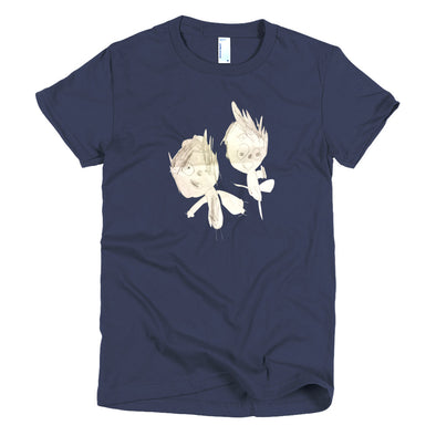 My Brother and Me Short sleeve women's t-shirt