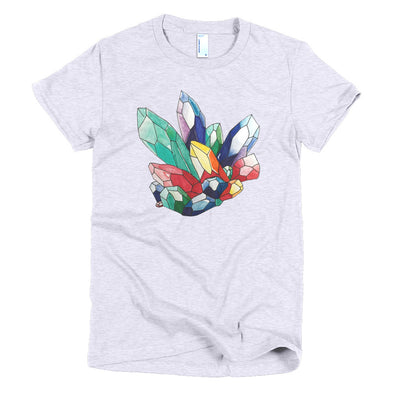 Crystals Short sleeve women's t-shirt