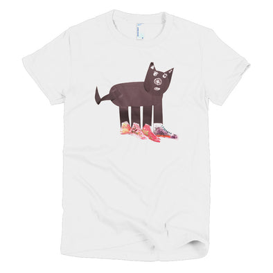 Cat Shoes Short sleeve women's t-shirt