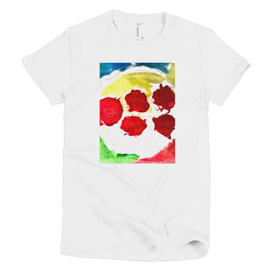 Apples on a Plate Short sleeve women's t-shirt