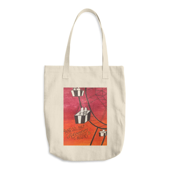 Adventures Cotton Tote Bag