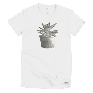 Aloe Plant Short sleeve women's t-shirt