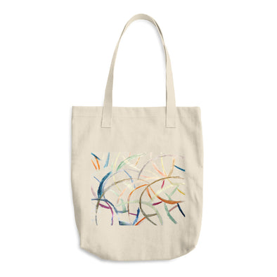 Waves Cotton Tote Bag